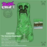 DARKCRAFT CREEPER by BR3AR
