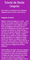 Tutorial Categorias de Stock by JacquiJax