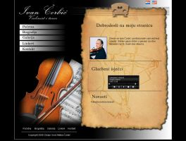 My dad's web page by Player-Designer