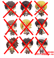 [SOLD OUT] SNK KEYCHAINS NEW SEALED NO CHINA FAKES by xXBeatoUshiromiyaXx