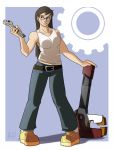 Wrench Gal - color by AlOrozco