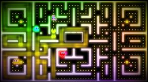 'Neon Bytes':Fanmade Pacman Image by Vex97