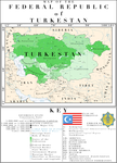 The Heart of Asia - A Greater Turkestan by HouseOfHesse