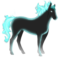 Spectral Horse 1 by Planet-Spatulon