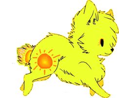 Sunshine Wolf Adopt by Prettyxmouse