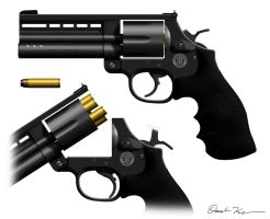 Smith and Wesson Model 725 by daisukekazama