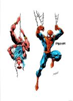 DVSmallville's Spider-men by Creation-Matrix