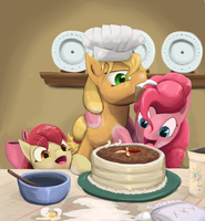 Baking With Apples by Bakuel