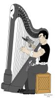 The Punisher with Comfort Lady by OwossoHarpist