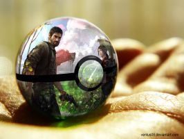 The Last of Us - Pokeball by Ventus08