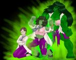 Incredible She-Hulk--Transformation by Dragonfly177