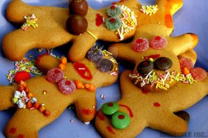 Gingerbread Orgy by Lanzie