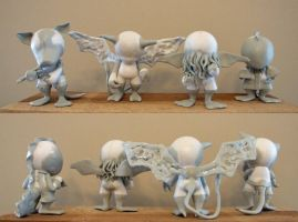 Lovecraft Munny Series Sculpts by shalonpalmer