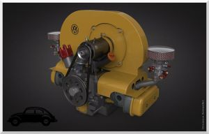 Vw Engine by Citronics