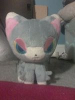 a stuffed animal my brother got me last year! by spillartist95