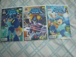 Megaman Issues 4-6 by tanlisette