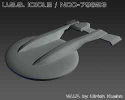 USS ICICLE / NCC-79823 W.I.P.-001 by ulimann644