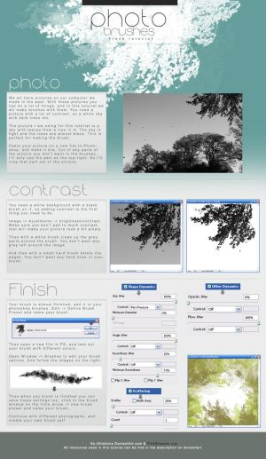 Tutorial - Photo Brushes by So-ghislaine