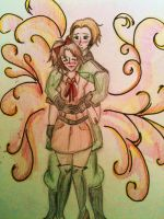 Germany and Fem!Ita Together by LesFromages