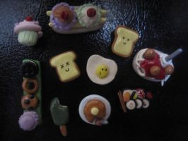 Food Magnets by SugiAi