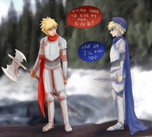 Denmark and Sweden by ElvaQ