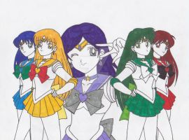 Senshi of Space by goth-chan