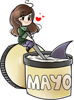 A Spoonful Of Mayo. by LoulabeIIe