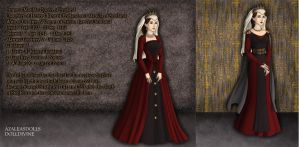 Empress Matilda, Queen of England 1141-1141 by TFfan234