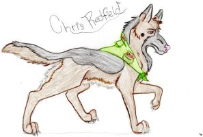 Chris Redfield by LunaWolfPup