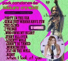 Canciones de Miley Cyrus by ChocolatinaStar