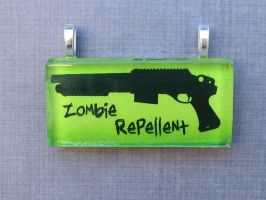 Zombie Repellent by AngelElementsEtsy