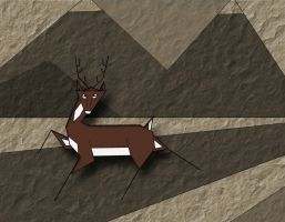 Triangular Deer by FranklymyDeer