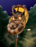 Totoro Transportation: Catbus by KrisCynical