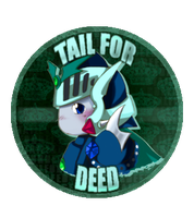 Tail For Deed pin by DemandinCompensation