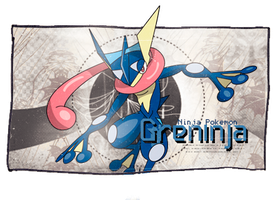 Greninja by GreedLingCR