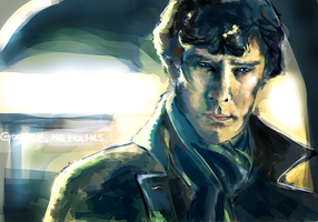 Goodbye, Mr Holmes. by chanso