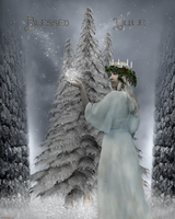 Blessed Yule by magicsart
