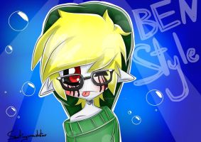 BEN Drowned Style by Shootingsmashstar