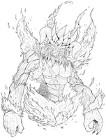 King of Flames by Nehis