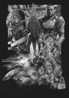 Mass Effect - Sketch by Kmadden2004