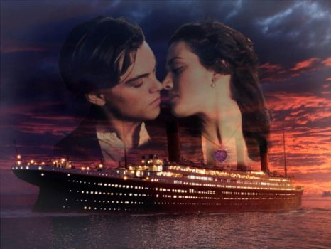 Rose and Jack - Titanic by hopelesslyromantic94