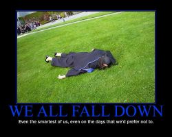 Falling Motivational Poster by QuantumInnovator