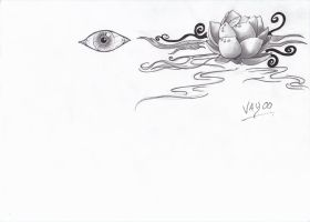 Eye and tatoo project by Vay00