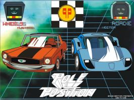 Pole Position Cars by tonatello