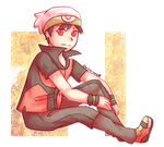 CP: Ruby Sitting by Southrobin