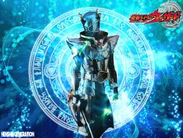 Kamen Rider Wizard Infinity Form by HenshinGeneration