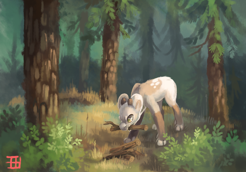 Forest games by griffsnuff