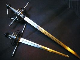 Shell Side-Sword and Dagger set - 1 by Danelli-Armouries