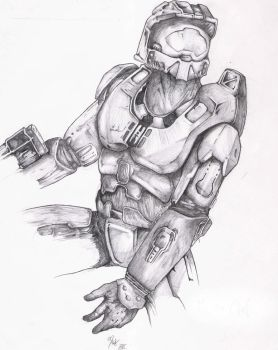 Master Chief by TheXIII