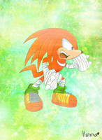 Knuckles Boom by KonKonna